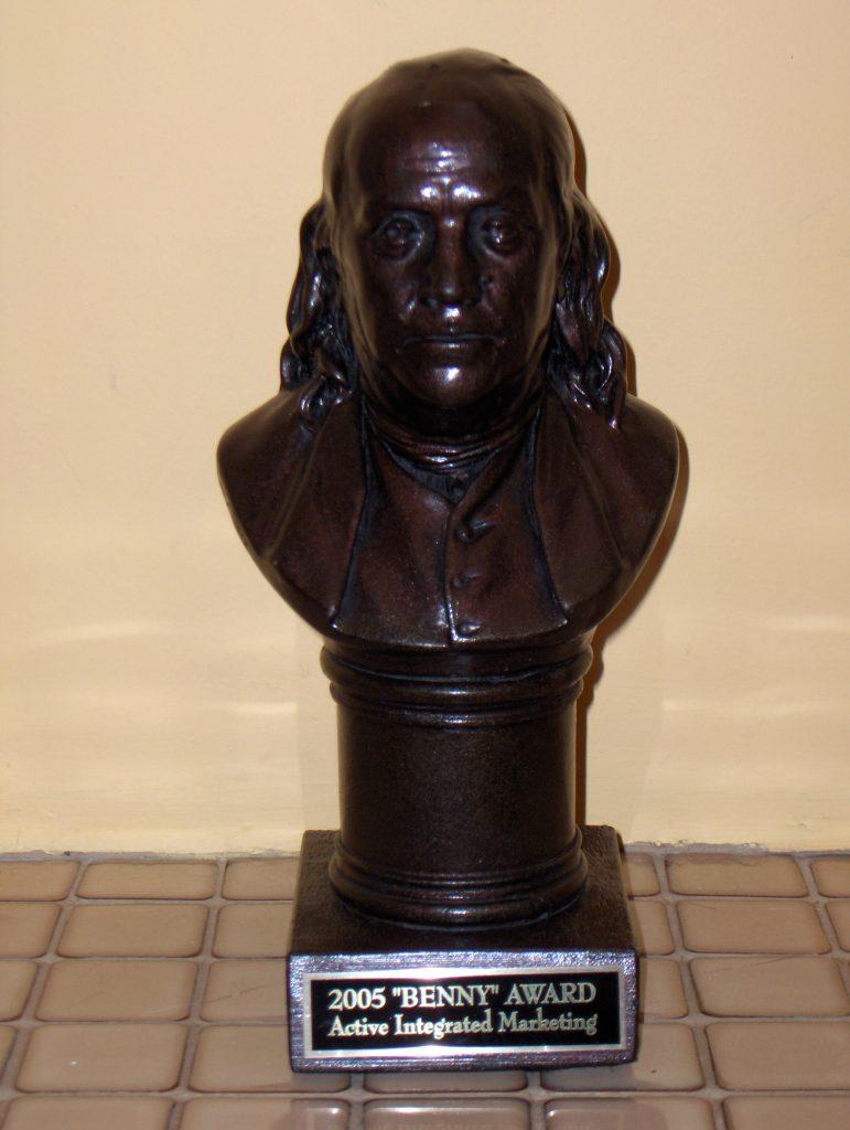 2005 Benny Award.