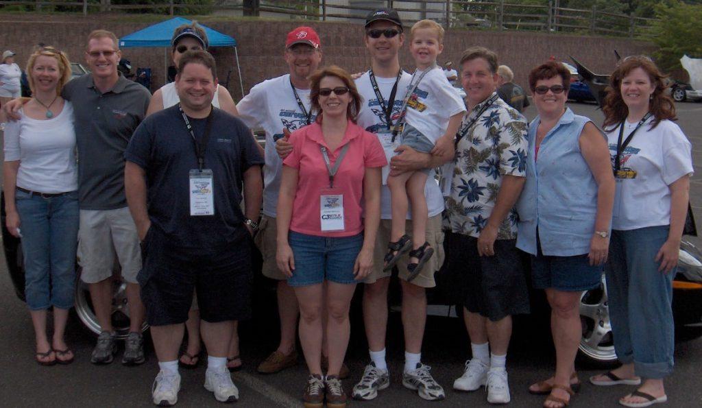 Corvettes group.
